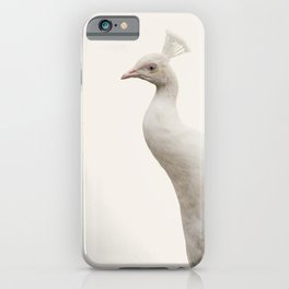 White Peacock | Protection | Awareness | Purity  iPhone Case