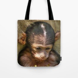 Sweet Baby Monkey Tote Bag