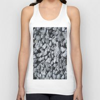 black and gold Tank Tops featuring Black Gold by Marina Scheinost