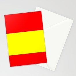 Flag of spain 4-spain,espana, spanish,plus ultra,espanol,Castellano,Madrid,Barcelona Stationery Cards