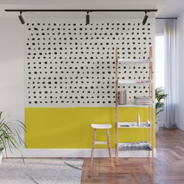 Sunshine x Dots Wall Mural