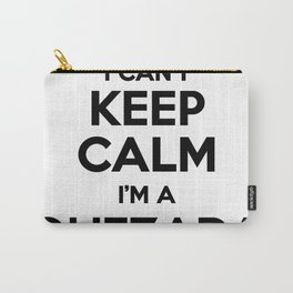 I cant keep calm I am a QUEZADA Carry-All Pouch