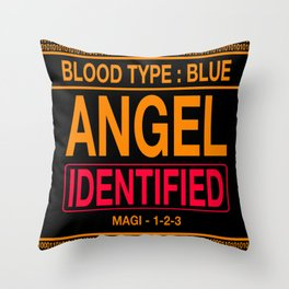 Angel Identified Throw Pillow