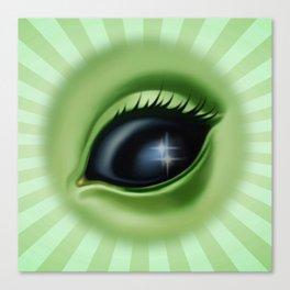 Alien Eye - Eye See You Canvas Print