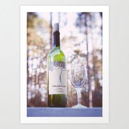 Drinks for 1 Art Print