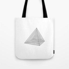 DMT TETRAHEDRON Tote Bag