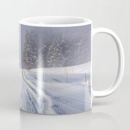 Yellowstone National Park - Road to Mud Volcano Coffee Mug