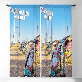 Amarillo Bug Art Blackout Curtain