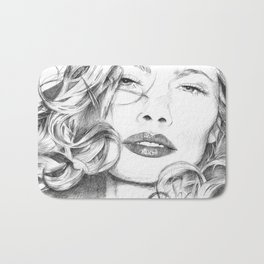 Kitty Manhattan Bath Mat
