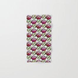 Modern Floral Protea Pink #homedecor Hand & Bath Towel