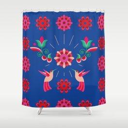 Happy Birds Shower Curtain