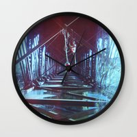 tangled Wall Clocks featuring Tangled by Shelly Navarre
