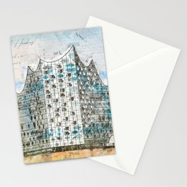 Elbe Philharmonic Hall, Hamburg Stationery Cards
