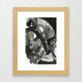 Swan Dreams Framed Art Print
