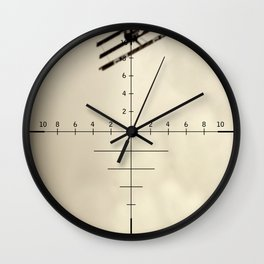 12 O'Clock High: Red Baron Edition Wall Clock