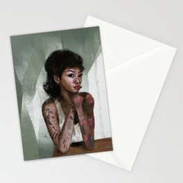 She'll turn you to stone Stationery Cards