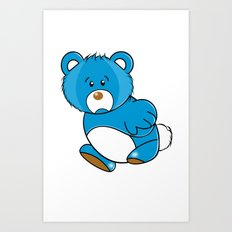 Missing Bear Art Print