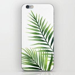Palm leaves. iPhone Skin