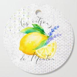 Les Citrons de Menton—Lemons from Menton, Côte d'Azur Cutting Board