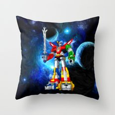 Voltron - Painting Style Throw Pillow