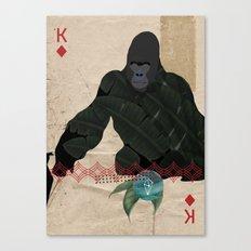 THE KING OF DIAMONDS Canvas Print