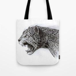 Jaguar Charcoal Tote Bag