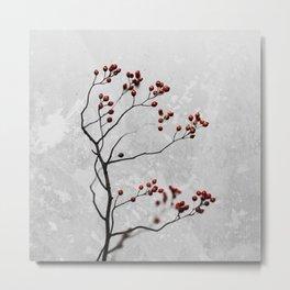 Abstract Flowers 6 Metal Print