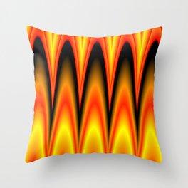magical colors Throw Pillow