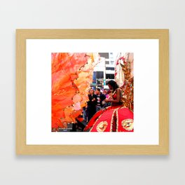 Yes, Gial Framed Art Print