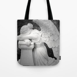 crying angel Tote Bag