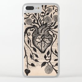 Yes, or Prayer for an Abundant Heart Clear iPhone Case