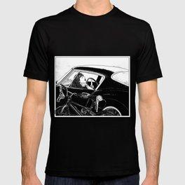 asc 432 - Le bolide noir (Never go into a black car) T-shirt