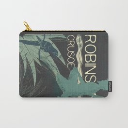 Books Collection: Robinson Crusoe Carry-All Pouch