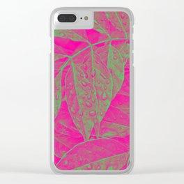 Tropica I Clear iPhone Case
