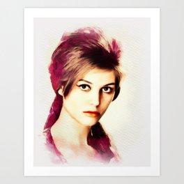 Claudia Cardinale, Movie Legend Art Print