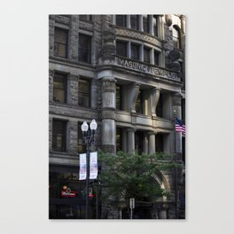 Masonic Temple Canvas Print