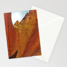 Fall's Veins. Stationery Cards