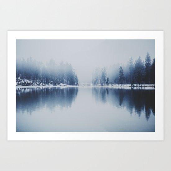 frozen world Art Print