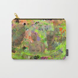 Botanical Figures Carry-All Pouch