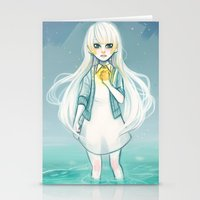cyarin Stationery Cards featuring Safe Haven by Cyarin