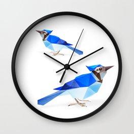 Blue Jay. Wall Clock