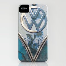Blue Rusty VW Slim Case iPhone (4, 4s)