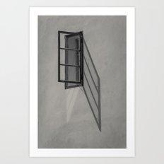 Window - BW Art Print