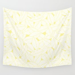 Leaves in Daisy Wall Tapestry