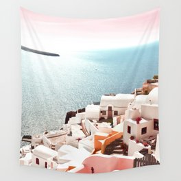 Santorini, Oia, Greece Wall Tapestry