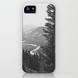 River through the Mountains iPhone Case