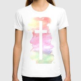 Cross- Landscape / Sunset T-shirt