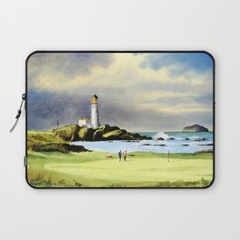 Turnberry Golf Course Scotland 10th Green Laptop Sleeve