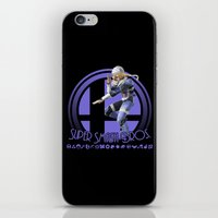 super smash bros iPhone & iPod Skins featuring Sheik - Super Smash Bros. by Donkey Inferno