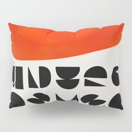 Solar Symbol Pillow Sham